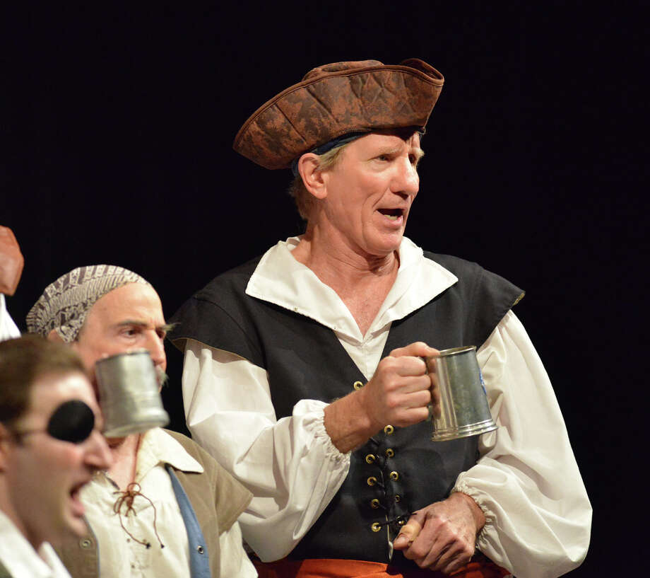 "The Troupers Light Opera production of ""The Pirates of Penzance"" at Rippowam Middle School in Stamford, Saturday afternoon, April 12, 2014. Photo: Bob Luckey / Greenwich Time"