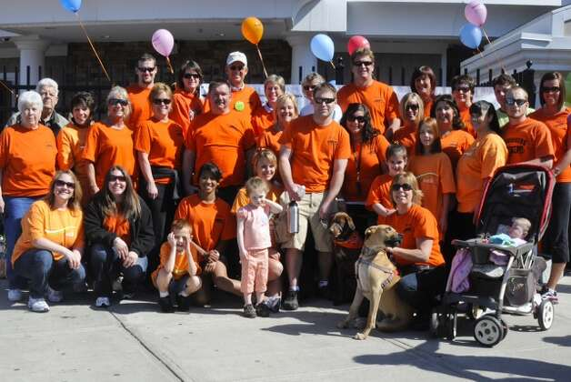 Cindy Williams of Saratoga will lead the Walk MS team ?Shooters? during the May 4 event. She created the team in 2008 in support of her son, who was diagnosed with multiple sclerosis in 2007. Those interested in joining Walk MS: Saratoga can register on site the day of the event, or online at walkMSupsateny.org. The walk will start at 342 Jefferson St,, Saratoga Springs, with registration at 9 a.m. The opening ceremony is 9:55 a.m. (Photo submitted)