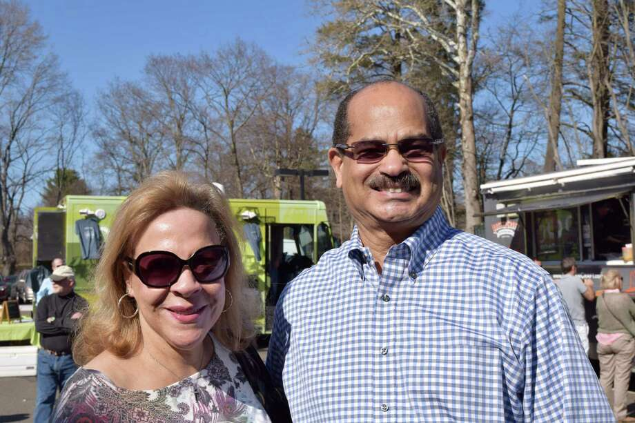 "The Westport Country Playhouse held it's annual 'Block Party"" Saturday afternoon. The food was delicious as people ducked onto the patio from the brilliant sunshine. Tours of the backstage area stirred the imagination. Were you SEEN at the party? Photo: Todd Tracy / Hearst Connecticut Media Group"