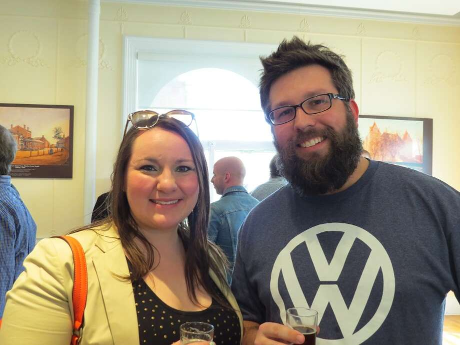 Were you Seen at the third annual Hudson Valley Hops event at the Albany Institute of History & Art on Saturday, April 12, 2014. Photo: Mary Doehla
