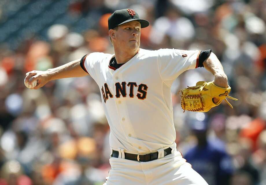 In his best start of the season, Matt Cain held Colorado to one run and four hits and struck out eight in seven innings. Photo: Cary Edmondson, Reuters