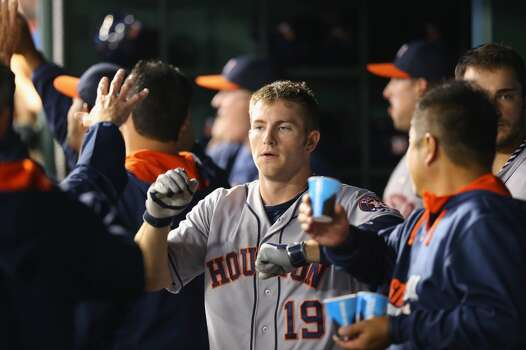 April 12: Astros 6, Rangers 5 (10)  The Astros topped the Rangers in the 10th inning thanks to a Jose Altuve sacrifice fly.  Record: 5-7. Photo: Ronald Martinez, Getty Images