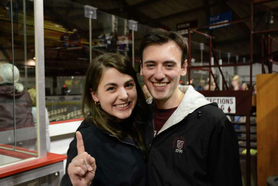 Were you Seen at Union College's Messa Rink watching the Union hockey team win its first national championship in Philadelphia on Saturday, April 12, 2014? Photo: Trevor R. Martin