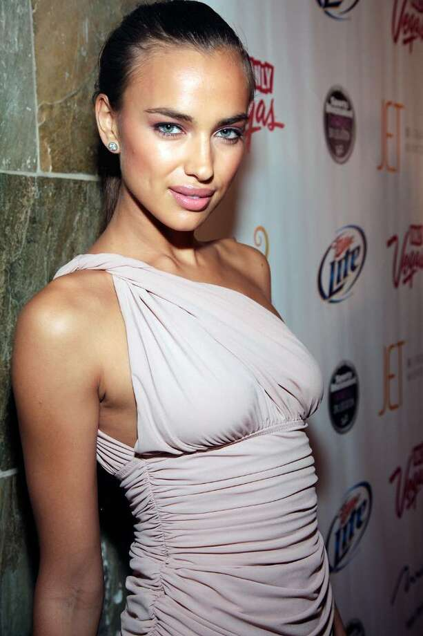 LAS VEGAS - FEBRUARY 10:  Sports Illustrated swimsuit model Irina Shayk arrives at the Sports Illustrated Swimsuit 24/7: SI Swimsuit On Location at Jet Nightclub at The Mirage on February 10, 2010 in Las Vegas, Nevada.  (Photo by Jacob Andrzejczak/Getty Images for Sports Illustrated) *** Local Caption *** Irina Shayk Photo: Jacob Andrzejczak, Getty Images For Sports Illustra / 2010 Getty Images