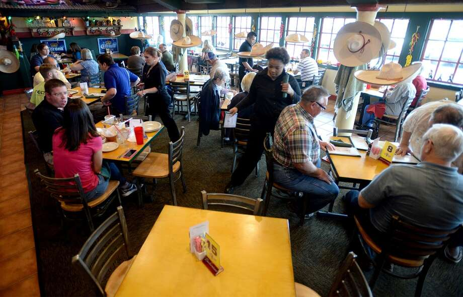 Inside Lupe Tortilla are welcomed with a festive atmosphere.  2050 I-10 S in Beaumont. Photo taken Wednesday, April 2, 2014 Guiseppe Barranco/@spotnewsshooter