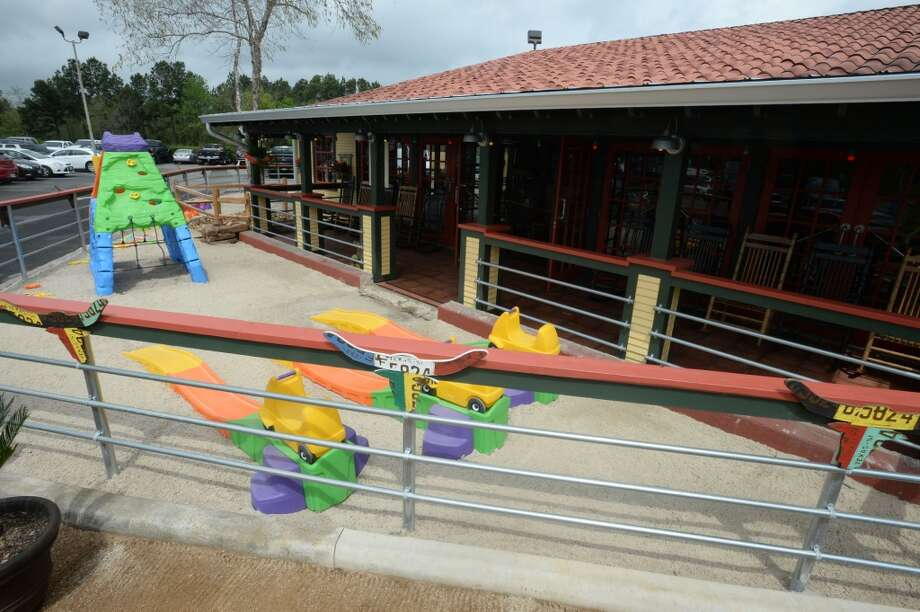 Lupe Tortilla in Beaumont offers a playground for the kiddos. 2050 I-10 S in Beaumont. Photo taken Wednesday, April 2, 2014 Guiseppe Barranco/@spotnewsshooter