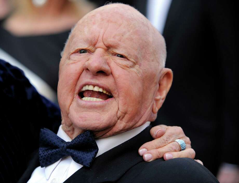 This March 7, 2010 file photo shows Mickey Rooney at the 82nd Academy Awards in the Hollywood section of Los Angeles. Rooney's final will filed in Los Angeles Superior Court on Tuesday, April 8, 2014, calls for his stepson and caretaker Mark Rooney to receive the bulk of the actor's modest estate. Attorney Michael Augustine, who Rooney nominated to run his estate, said Tuesday that the actor died after a nap Sunday, April 6, 2014, and wanted his stepson to be the sole beneficiary of his estate because of the care he had received in recent years. Photo: Chris Pizzello, AP  / A2010