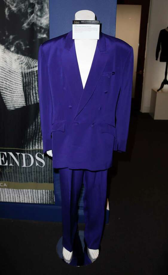 BEVERLY HILLS, CA - APRIL 07:  A David Hasselhoff suit is displayed at Julien's Auctions Hollywood Legends 2014 Press Preview Day at Julien's Auctions Gallery on April 7, 2014 in Beverly Hills, California. Photo: David Livingston, Getty Images / Getty Images