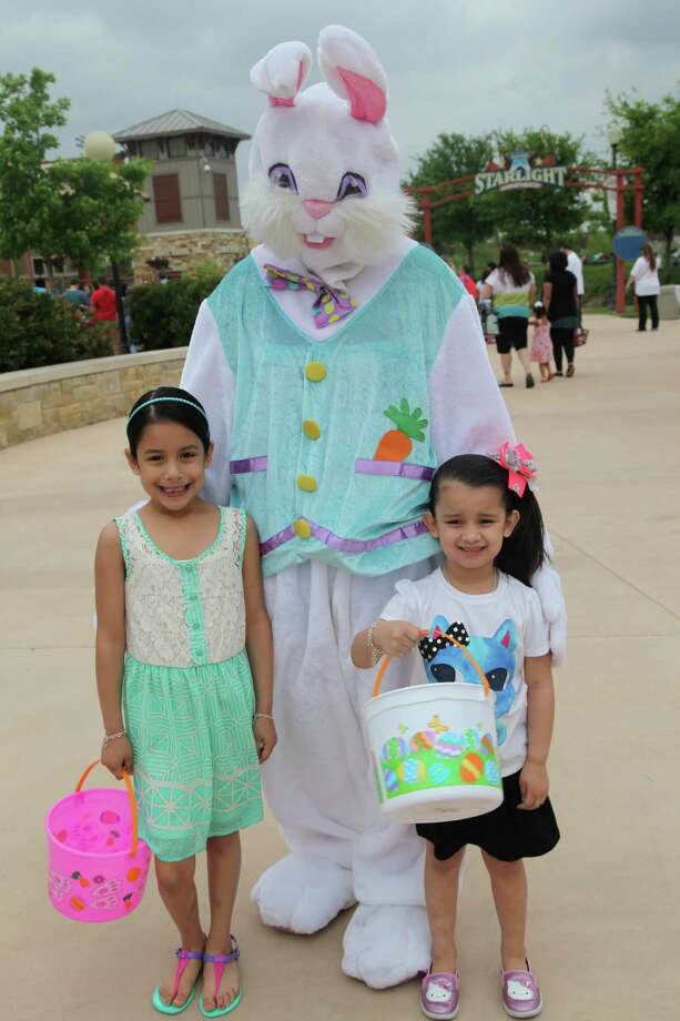Morgan's Wonderland hosted the city's FishSanAntonio.com Easter Eggstravaganza this year. Here are the kiddos who joined in the fun. Photo: By Xelina Flores-Chasnoff, For MySA.com
