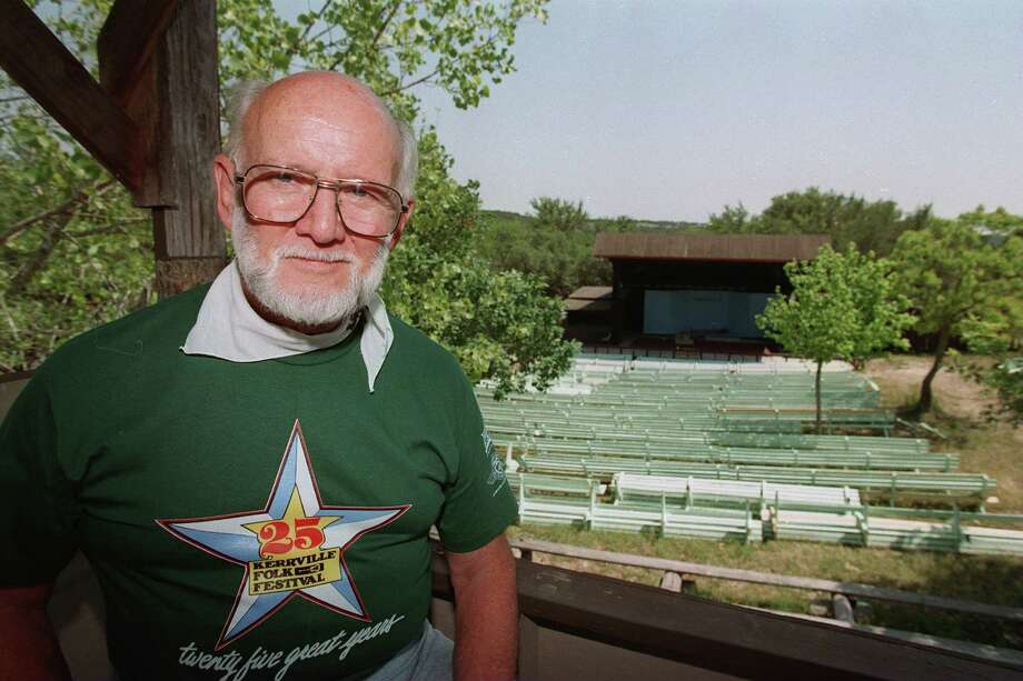 Rod Kennedy is founder and director of the Kerrville Folk Fest. Seen May 15, 1996 at Quiet Valley Ranch in Kerrville. Photo: JOHN DAVENPORT, SAN ANTONIO EXPRESS-NEWS / SAN ANTONIO EXPRESS-NEWS