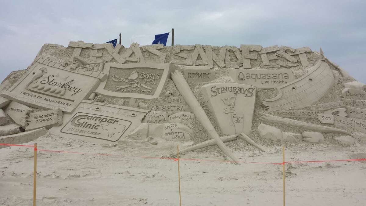 According to Port Aransas officials, Port A's annual sand sculpture competition, Texas SandFest, is one of the largest beach festivals in the state. Here is a look at some of the creations from the event.