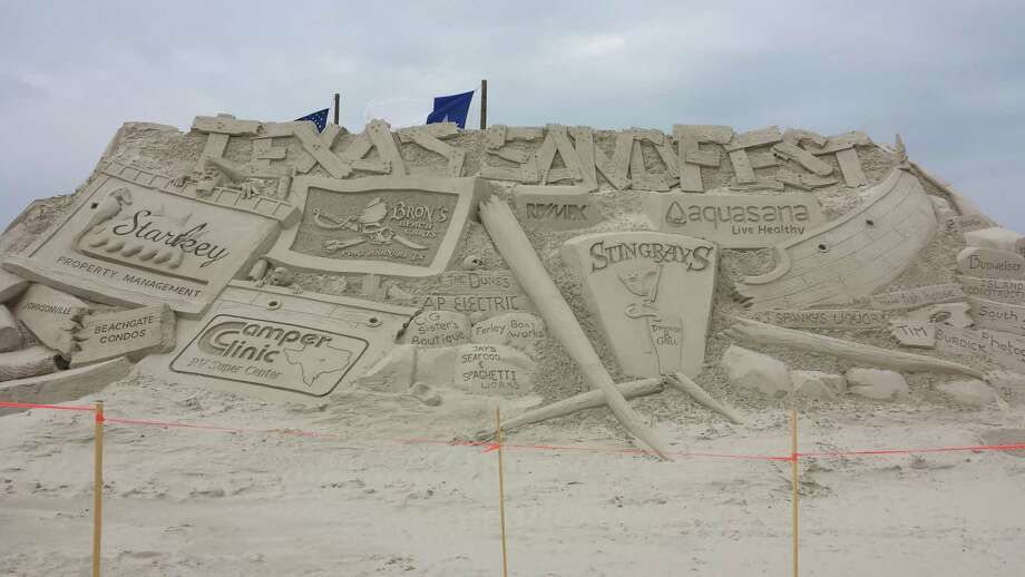 According to Port Aransas officials, Port A's annual sand sculpture competition, Texas SandFest, is one of the largest beach festivals in the state. Here is a look at some of the creations from the event. Photo: By Nora Lopez