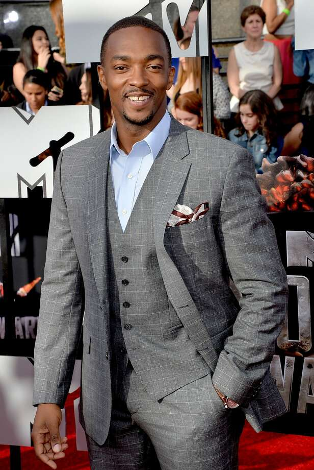 Actor Anthony Mackie attends the 2014 MTV Movie Awards at Nokia Theatre L.A. Live on April 13, 2014 in Los Angeles, California.  (Photo by Michael Buckner/Getty Images) Photo: Michael Buckner, Getty Images
