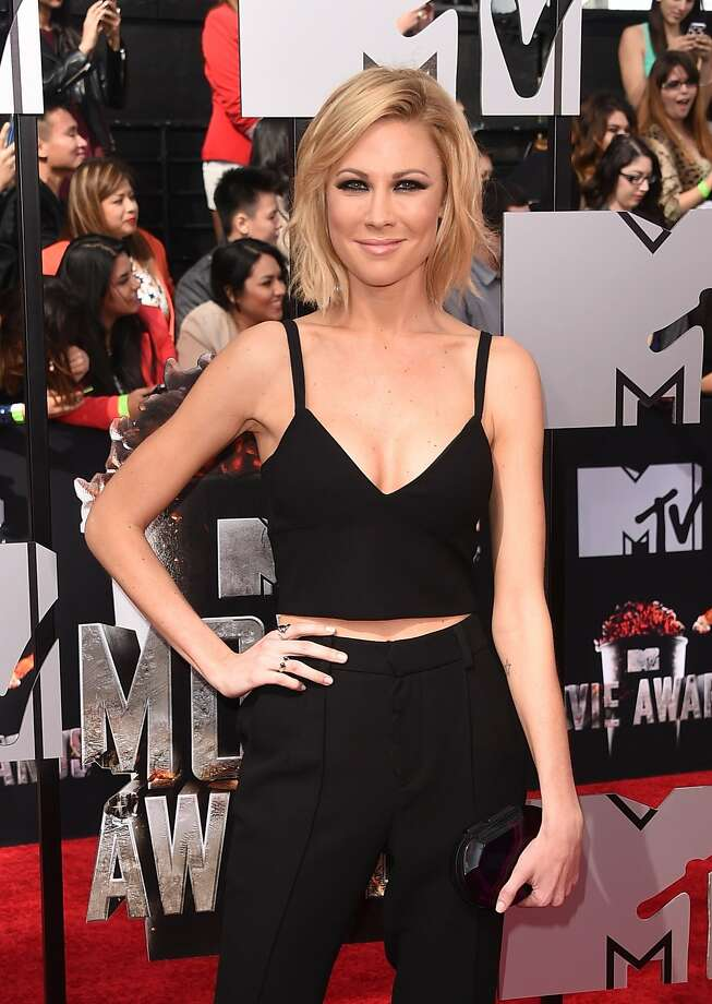 Actress Desi Lydic attends the 2014 MTV Movie Awards at Nokia Theatre L.A. Live on April 13, 2014 in Los Angeles, California.  (Photo by Jason Merritt/Getty Images for MTV) Photo: Jason Merritt, Getty Images For MTV