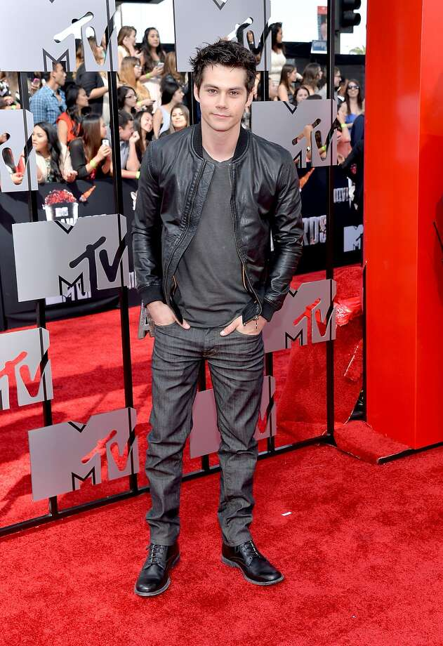 Actor Dylan O'Brien attends the 2014 MTV Movie Awards at Nokia Theatre L.A. Live on April 13, 2014 in Los Angeles, California.  (Photo by Michael Buckner/Getty Images) Photo: Michael Buckner, Getty Images