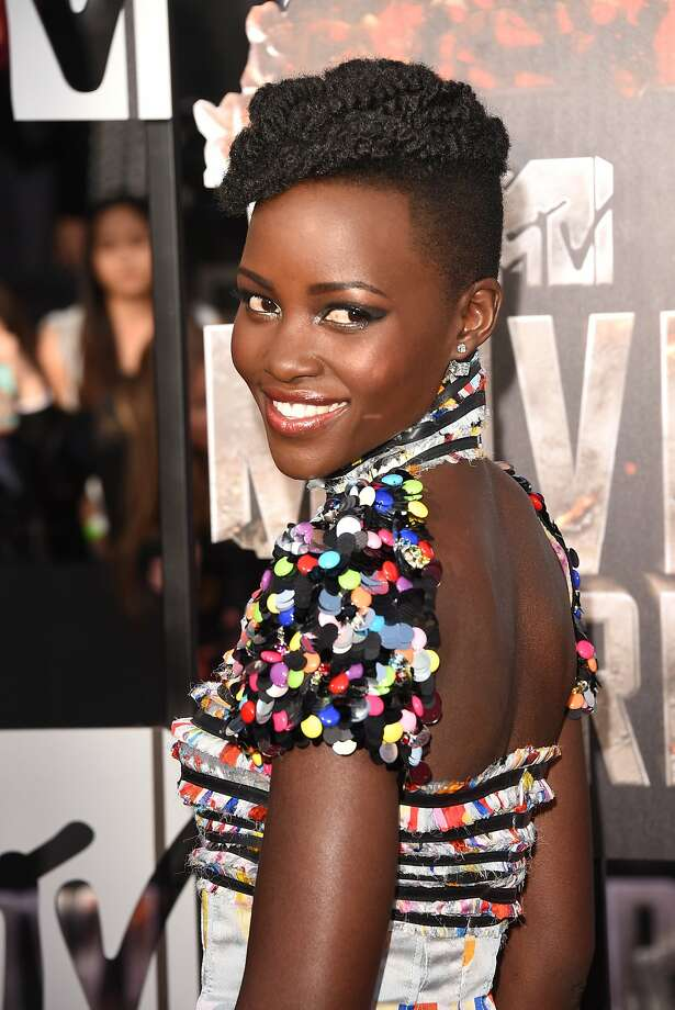 Actress Lupita Nyong'o attends the 2014 MTV Movie Awards at Nokia Theatre L.A. Live on April 13, 2014 in Los Angeles, California.  (Photo by Jason Merritt/Getty Images for MTV) Photo: Jason Merritt, Getty Images For MTV