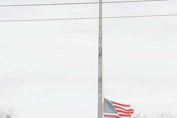 These flags have flown at half-staff since just after the deadly 2013 fertilizer plant explosion as a continuing remembrance of those who died in the blast.