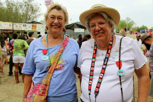 The sounds and smells of down home good old bayou cooking and stepping came alive at Taste of New Orleans. Photo: By Yvonne Zamora, For MySA.com
