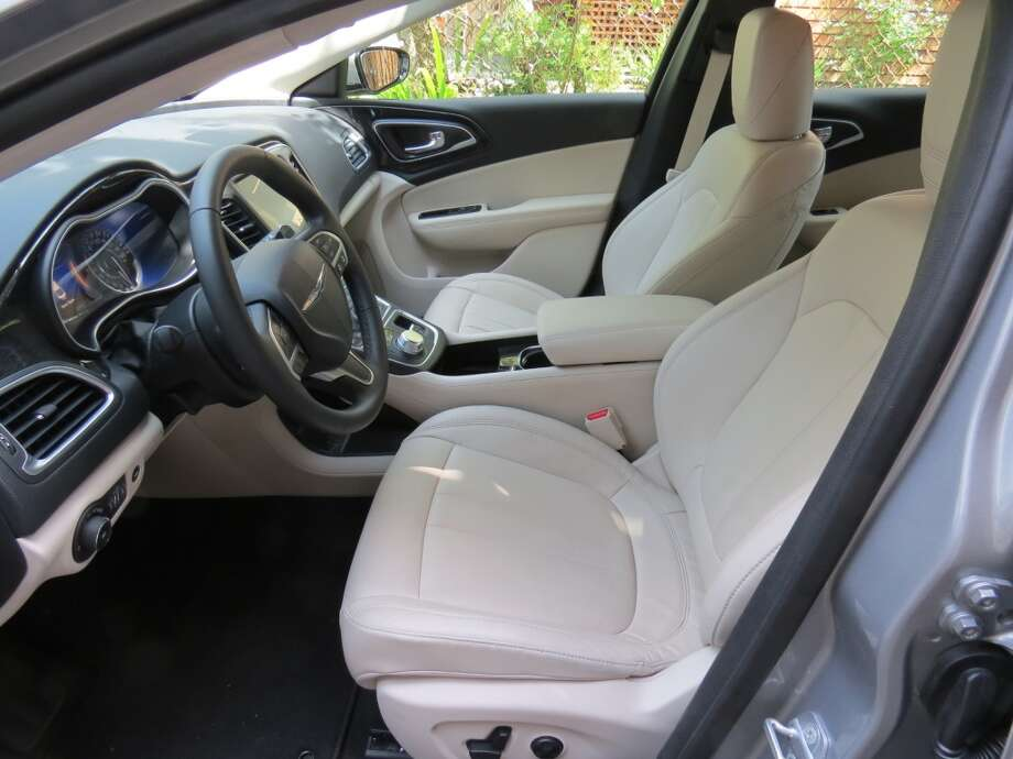 The driver and front-seat passenger each get well-formed seats that are comfortable for the long haul.