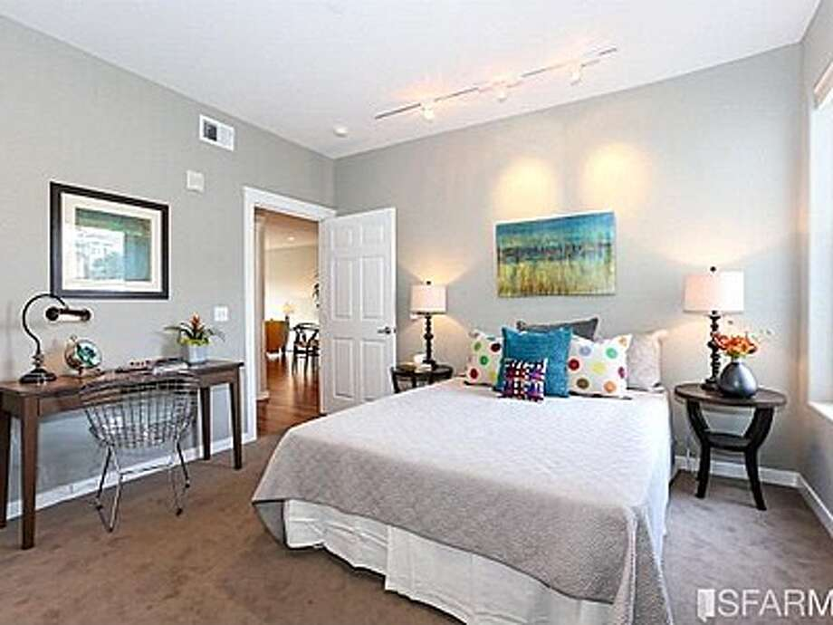 The second bedroom is separated from the master for additional privacy. Photo: MLS