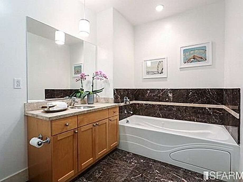 The master bath features a whirlpool tub. Photo: MLS