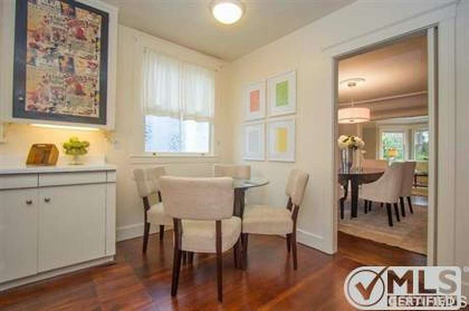 The eat-in kitchen right off the dining room Photo: MLS