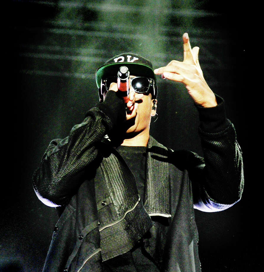 Rapper Jay-Z performs performs onstage during day 2 of the 2014 Coachella Valley Music & Arts Festival. Photo: Frazer Harrison, Getty Images / 2014 Getty Images