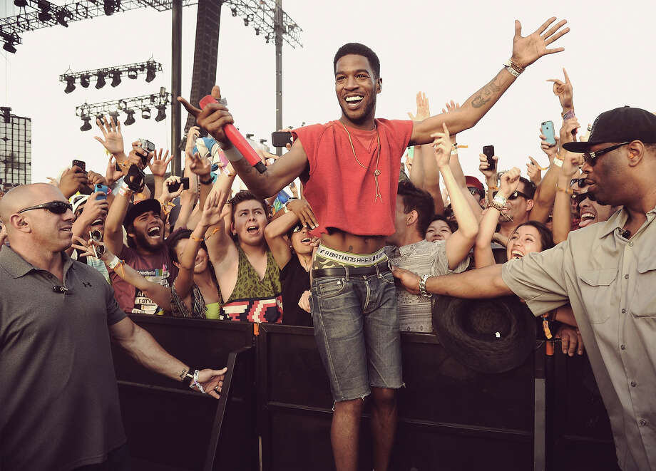Rapper Kid Cudi performs onstage during day 2 of the 2014 Coachella Valley Music & Arts Festival. Photo: Kevin Winter, Getty Images / 2014 Getty Images