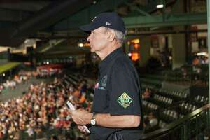 Rick Dunlavy, guest services supervisor for the Houston Astros, started his career with the Astros after retiring as an accountant for the oil and gas industry in 2011.
