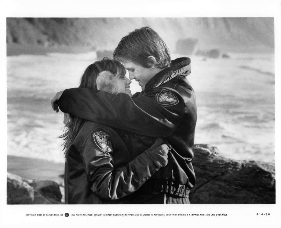 "Josh Brolin, right, and Kerri Green hug in a scene from ""The Goonies.""  Photo: Michael Ochs Archives, Getty Images / 2011 Getty Images"