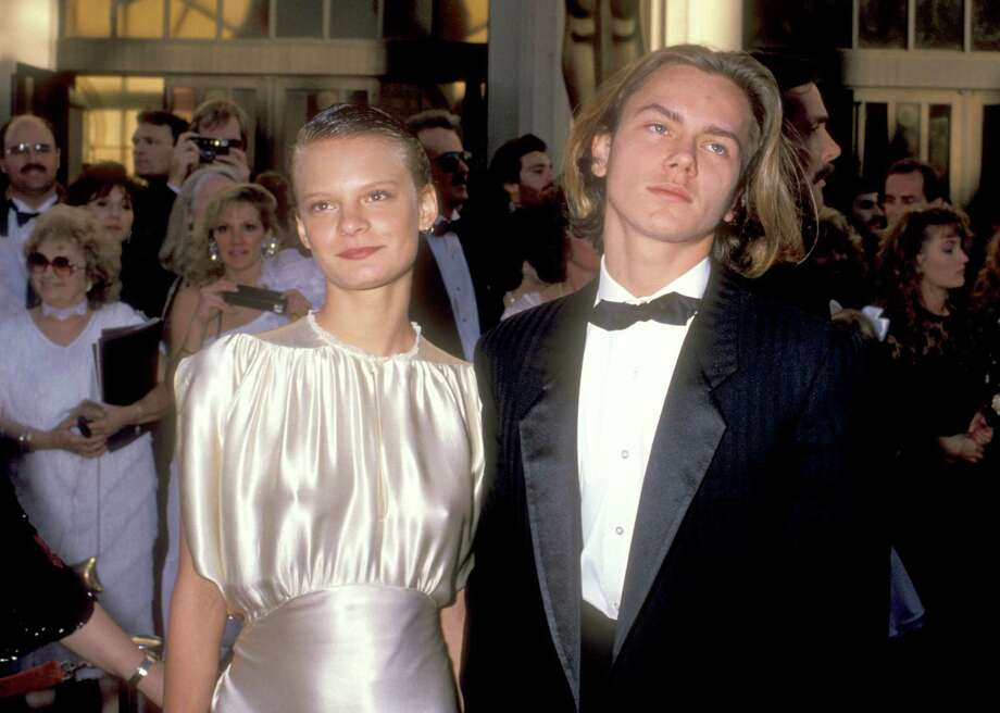 Martha Plimpton in 1989, with then boyfriend River Phoenix, at the Academy Awards. Phoenix died in 1993.  Photo: Ron Galella, Ltd., Getty Images / 1989 Ron Galella, Ltd.