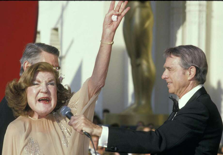 Anne Ramsey at the Academy Awards in 1988, the year she died.  Photo: Jim Smeal, Getty Images / Ron Galella Collection