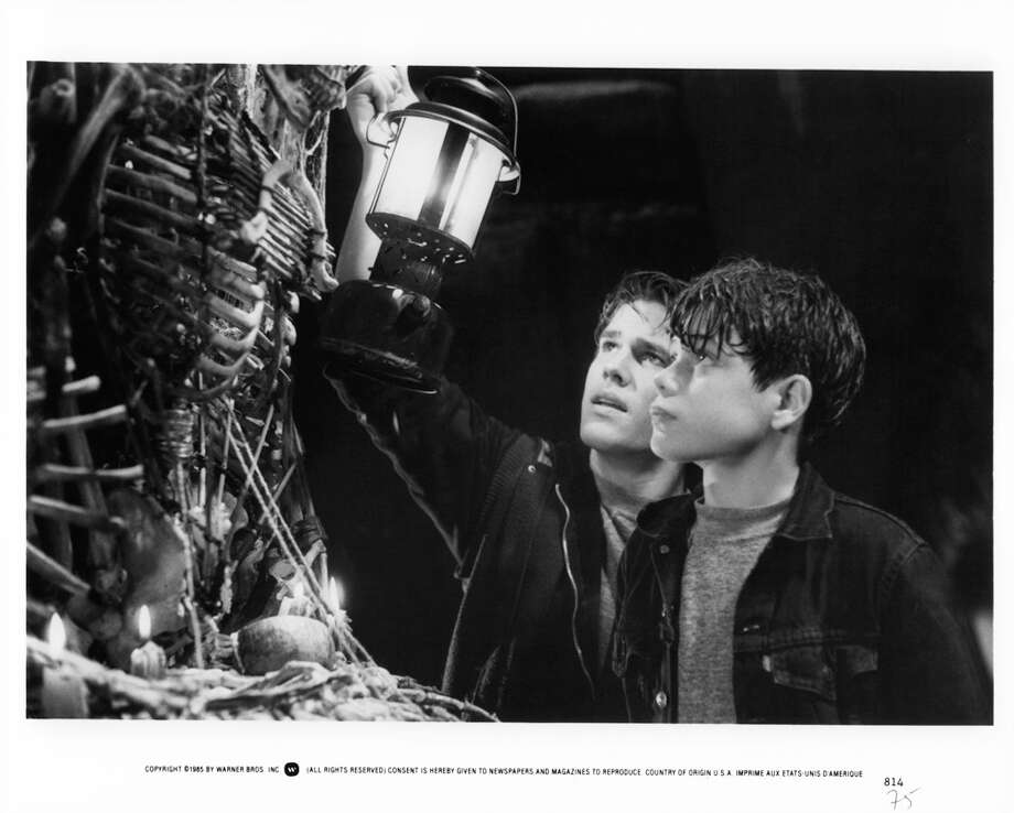 "Josh Brolin, left, and Sean Astin star as Brand and Mikey in a scene from ""The Goonies.""  Photo: Michael Ochs Archives, Getty Images / 2011 Getty Images"