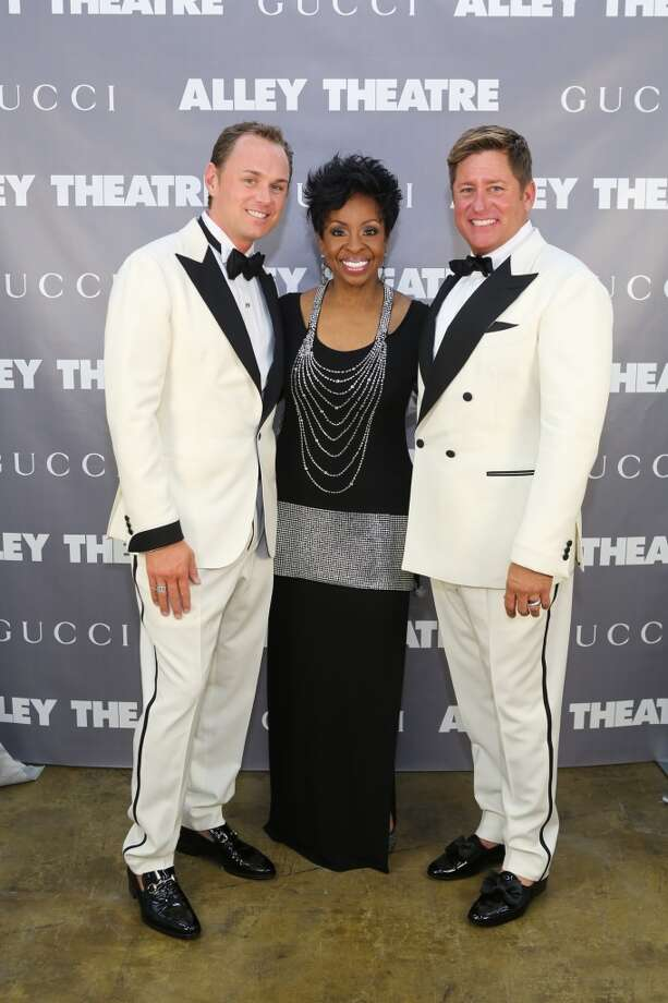 Andrew Cordes, Gladys Knight and Brian Teichman Photo: Priscilla Dickson