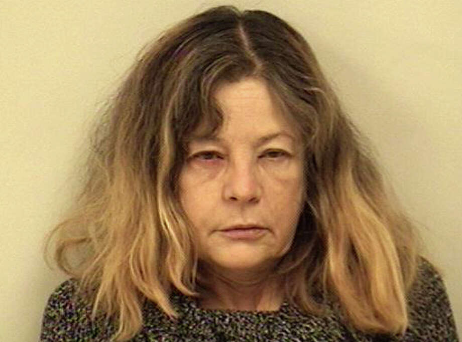 Marilyn Pantchenko, 59, of Big Pines Road faces several charges after police said she chased her husband with a large kitchen knife. Photo: Westport Police Department / Westport News