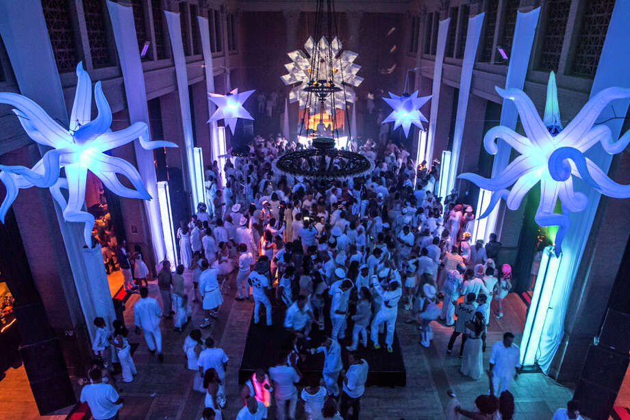 The White Party from a bird's eye view Photo: Misha Kutuzov, ©MKGraph / ©MKGraph