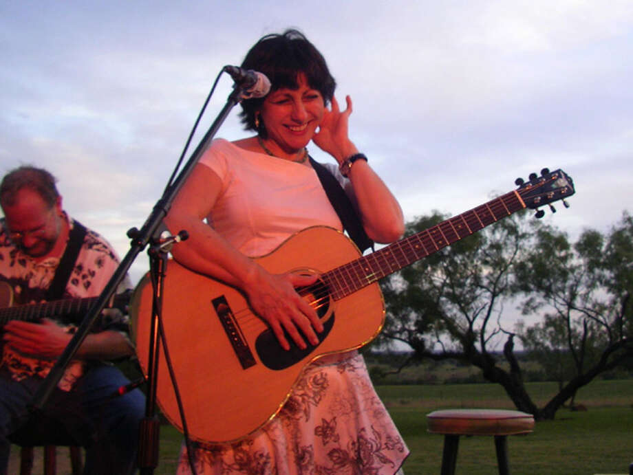 Tish Hinojosa debuted at the folk festival in 1979, when she won the New Folk competition. (Courtesy photo) Photo: COURTESY PHOTO
