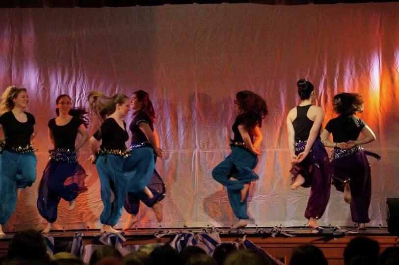 Ts'chok performs at the 40th Annual Albany Israeli Dance festival, which featured dancers from acros