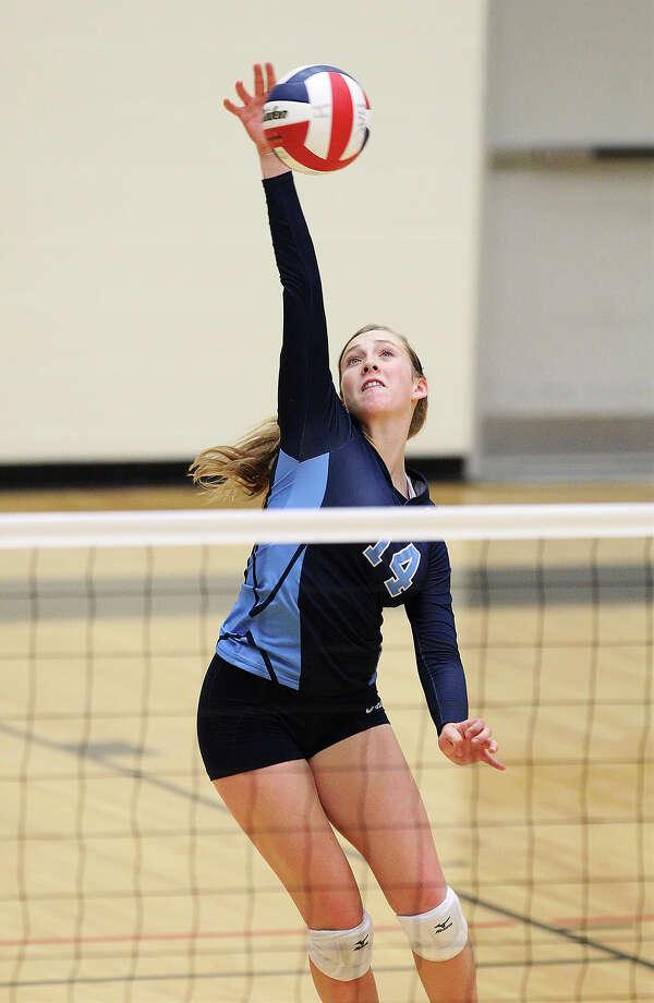 Kylie RittimannJohnson High School Photo: Kin Man Hui, San Antonio Express-News / ©2013 San Antonio Express-News