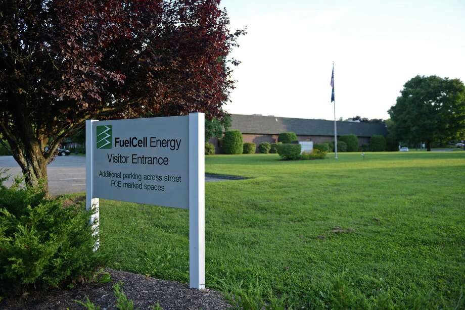 FuelCell Energy on Great Pasture Road in Danbury. Photo: Tyler Sizemore / The News-Times