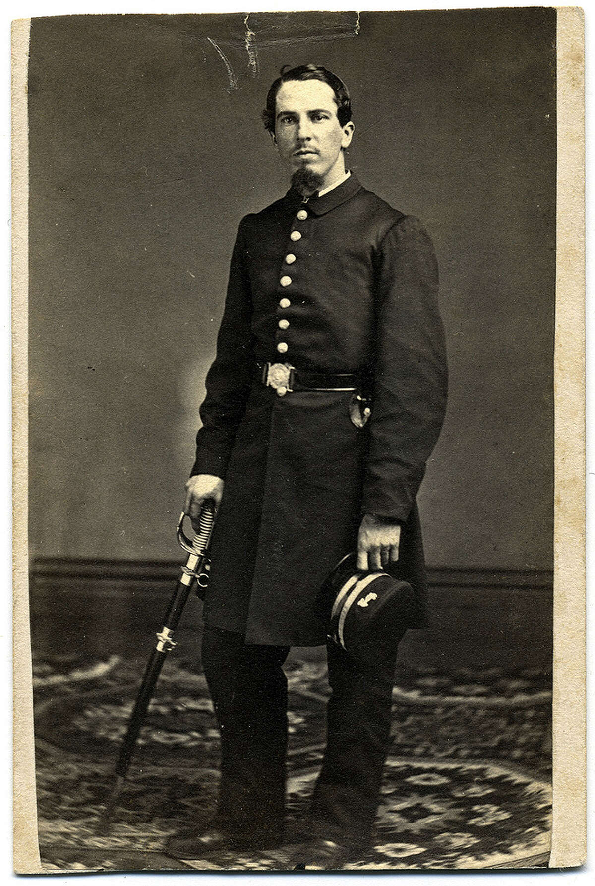 Isaac S. Bradbury, the acting ensign and final commander of the USS Narcissus.