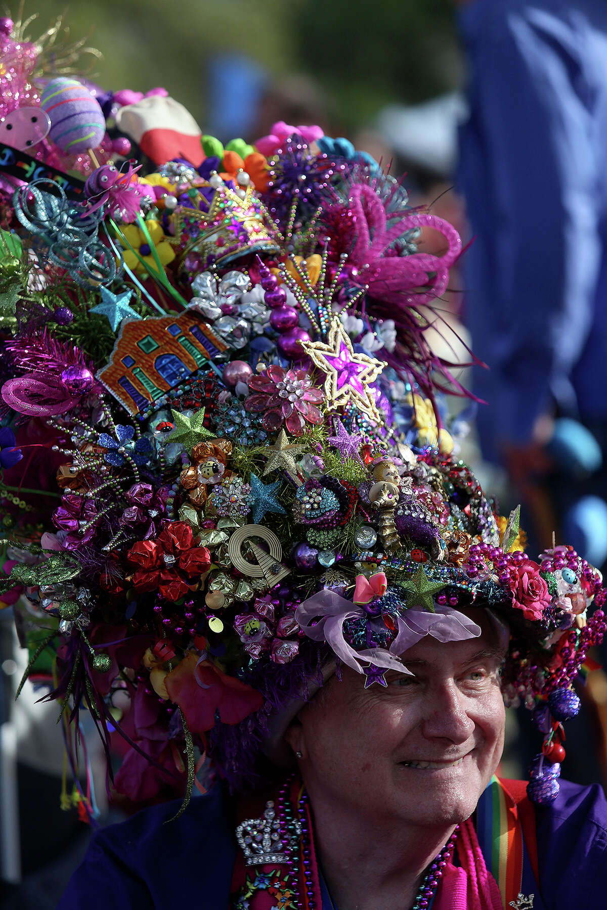 2. Fiesta hat royalty, like Cal Sumner and...