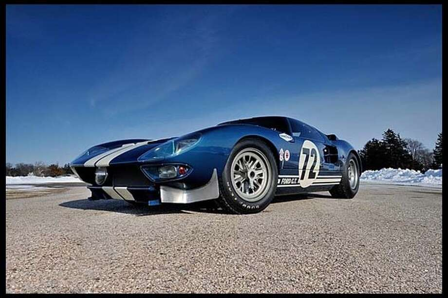 Take a look at the cars and motorcycles that fetched a pretty penny at the Mecum Auction event in Houston over the weekend.#11964 Ford GT40 Prototype