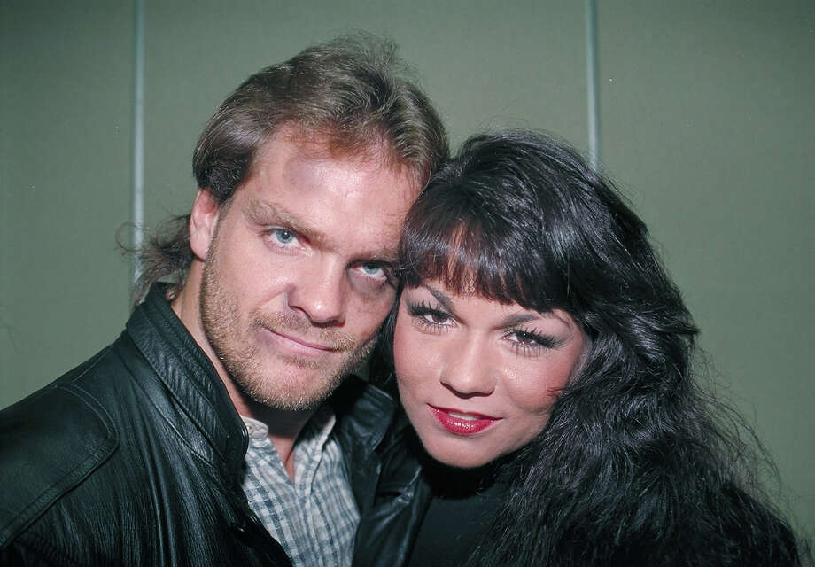 Nancy Benoit, better known as Woman, was killed by her husband Chris in a June 2007 murder-suicide at age 43. Photo: George Napolitano, FilmMagic / FilmMagic