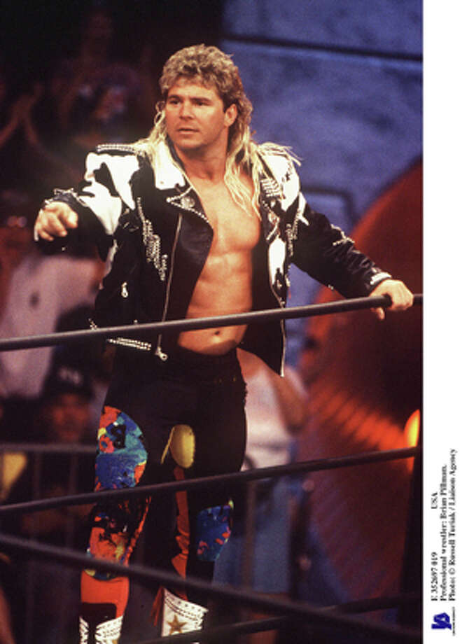 """""""Flyin'"""" Brian Pillman died in October 1997 at the age of 35 from a previously undetected heart condition. Photo: Russell Turiak, Getty Images / Hulton Archive"""