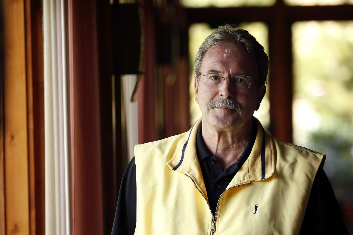Recent pancreatic cancer survivor Gary Notti poses for a portrait at the Marin Country Club in Novato, CA, Friday April 11, 2014.