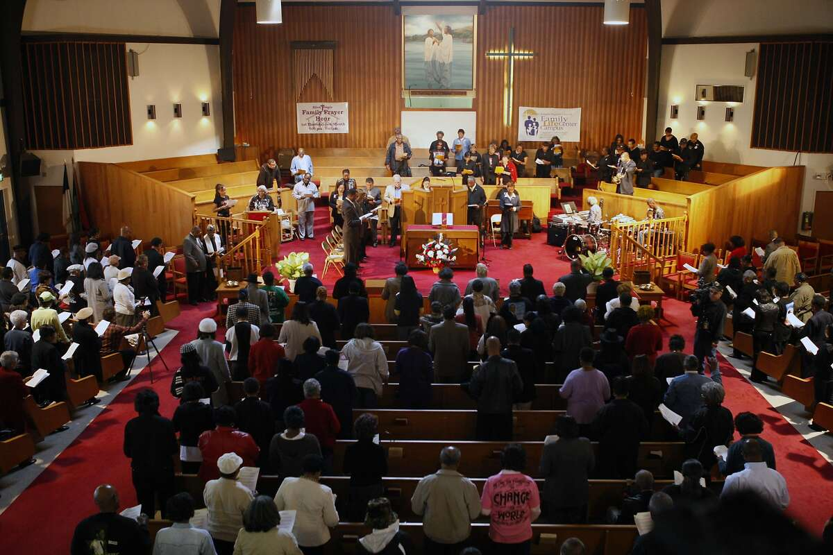 The Allen Temple Baptist Church is among the most influential in the East Bay.