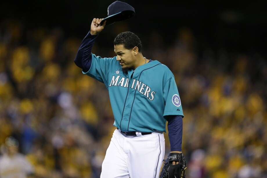 Player of the week  Felix Hernandez  In his third start of the season on Friday, Hernandez looked sharper than ever, fanning 11 batters and giving up just two runs at the end of his stint on the mound. Through three games Hernandez has 30 strikeouts and has earned just five runs. He has appeared confident with all of his pitches -- particularly his nasty changeup -- and has been making opposing hitters look silly. In Seattle, Felix is still King. Photo: Ted S. Warren, Associated Press