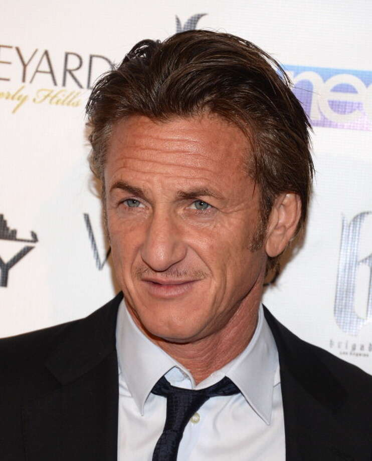 Sean Penn attends the Fame and Philanthropy Post-Oscar Party at The Vineyard on March 2, 2014 in Beverly Hills, California.  (Photo by Jason Kempin/Getty Images) Photo: Jason Kempin, Getty Images / 2014 Getty Images