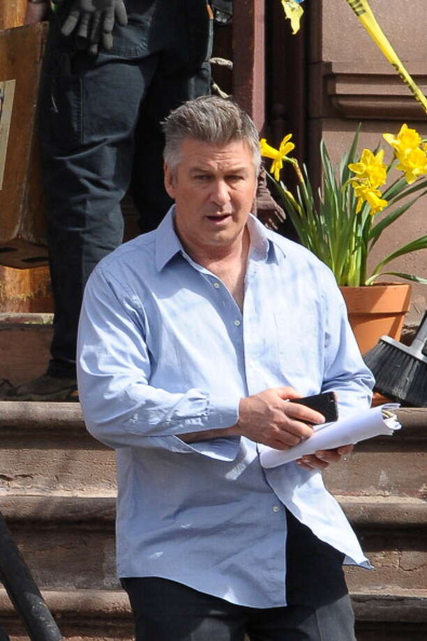 Alec Baldwin sighting on March 11, 2014 in New York City. (Photo by Josiah Kamau/BuzzFoto/FilmMagic) Photo: Josiah Kamau, BuzzFoto/FilmMagic / 2014 BuzzFoto